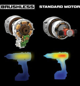 Motor ohne Kohlebürsten Vs. Motor mit Kohlebürsten