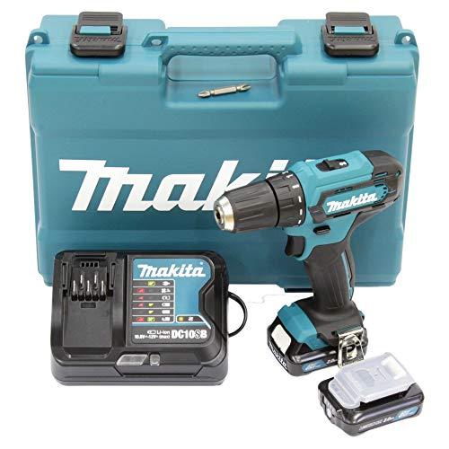 Makita DF333DSAE Akku-Bohrschrauber 12 V max. / 2,0 Ah, 2 Akkus + Ladegerät im Transportkoffer – Akkubohrer kaufen