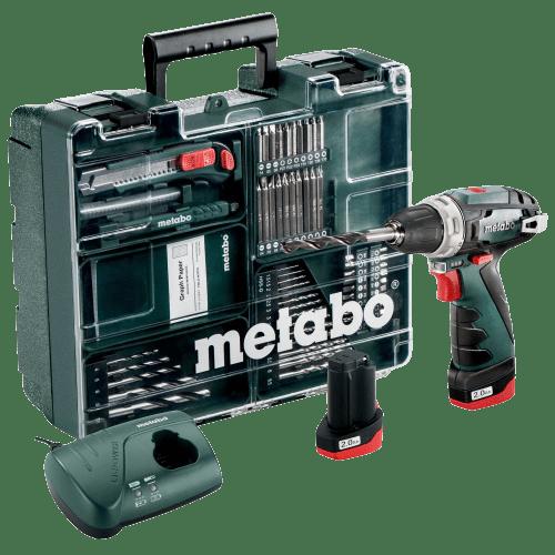 Metabo 10,8V Akku Bohrschrauber PowerMaxx BS