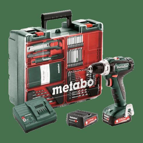 Metabo 12V Akku Bohrschrauber PowerMaxx BS 12 Set